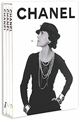 chanel fashion fine jewellery perfume set of 3 books memoire
