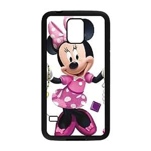 Samsung Galaxy S5 Cell Phone Case Black Minnie Mouse Guzc