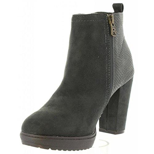 Refresh - Damen - 63704 - Stiefeletten & Boots - grau Zc4Kll