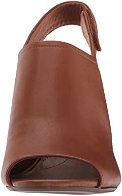 Details about Clarks Women's Deva Jayleen Pump Tan Leather 26130749