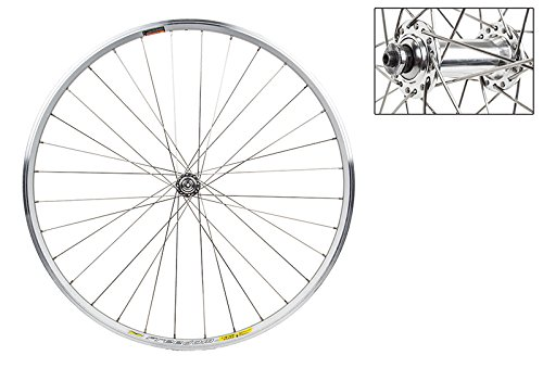 WheelMaster Front Bicycle Wheel, 700 WTB FREEDOM RACINE ELITE SL MSW 32 WM ALY QR SL 100mm DTI2.0BK by WheelMaster