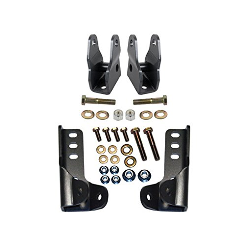 Synergy Manufacturing 8019 Jeep JK Front & Rear Lower Shock Relocation Kit