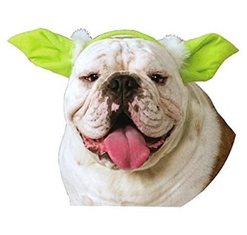 [Hot Sale! Star Wars Classic Dog Yoda Ears Headwear for Photo (Yoda Cat, One Size)] (Witch Wig Stripes)