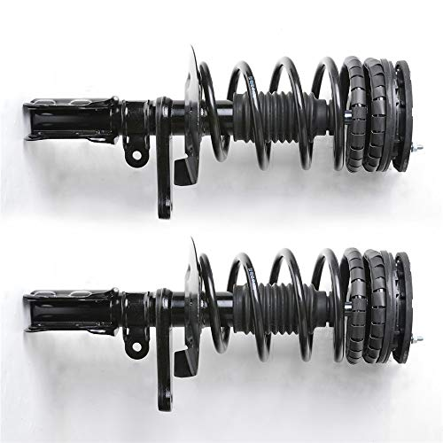 YH New Front Left Right 2pcs/Pair Complete Shocks Struts Assembly Fit 92-94 Buick Skylark/ 92-95 Chevrolet/ 92-95 Oldsmobile Achieva/ 92-95 Pontiac Grand AM Coil Spring Assembly Kit No. 171921 171922