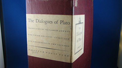 The Dialogues of Plato (Two volumes)