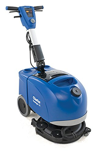 Clarke Micro Auto Scrubber Vantage 14 with 84 AH maint-free (AGM) battery, onboard charger, prolene brush