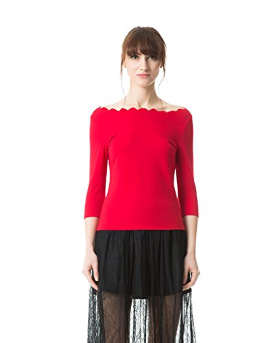 Boatneck Womens Top - 3