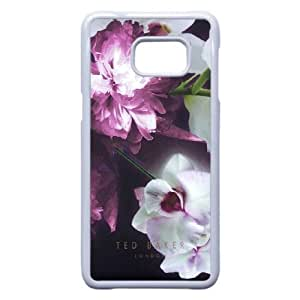 Samsung Galaxy S6 Edge Plus Cell Phone Case White Ted Baker logo AC8637229