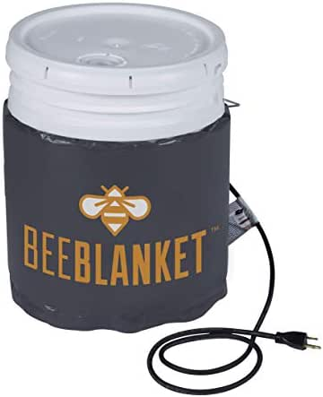 Powerblanket Honey Warming Bee Blankets, Fits 5-Gallon Buckets & 55-Gallon Drums, 120 & 240 Volt, Fixed & Adjustable Thermostat Models Available