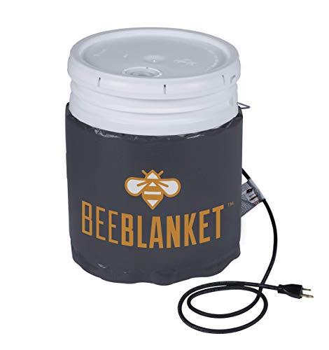 Powerblanket BB05 Bee Blanket 5 gal Pail Heater, Honey/Bucket, 120W, 120V (Equipment Bee Honey)