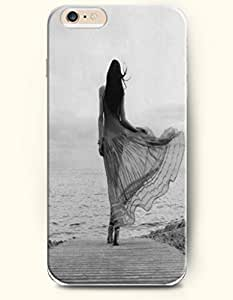 Long Dress Girl Walking To The Sea - Sexy Girl - Phone Cover for Apple iPhone 6 ( 4.7 inches) - OOFIT Authentic iPhone Case