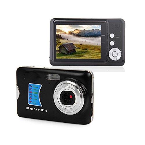 Digital Camera,Powpro PP-CDFE 2.7 inch TFT LCD HD Digital Camera(Black) (Zoom Camera Disposable With)