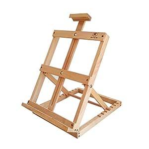 Caballete Caballete de madera de pino caballete de mesa Fácil de ...