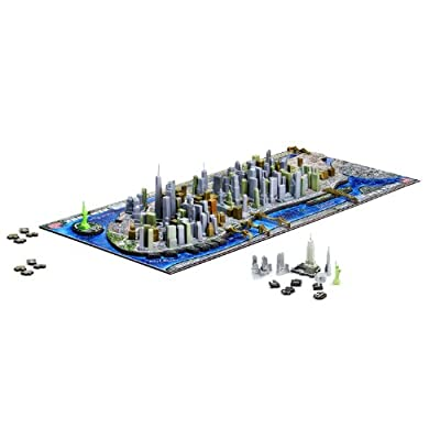 4d New York Cityscape Time Puzzle