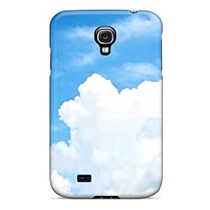 New Arrival Cover Case With Nice Design For Galaxy S4- White Clouds In The Sky