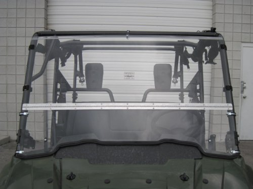 Read ad for measurement instructions -Best of both worlds Made in America **FREE SHIPPING** We need to know what kind of roof you have HONDA PIONEER 700 Full-Tilt Windshield does not fit the Pioneer 500 or 1000 Half when you want and full when you need