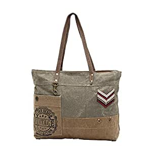 Amazon.com: Myra bolsas Militar insignia de material ...