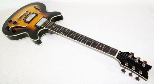 Cherrystone 4260180881172Semi-Acoustic Jazz/Blues Electric Guitar SB