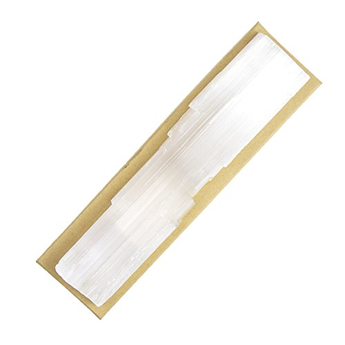 Beverly Oaks Energy Infused Selenite Crystal Slab - Selenite Charging Station For Healing Crystals - Large Selenite - Stone Slab Large