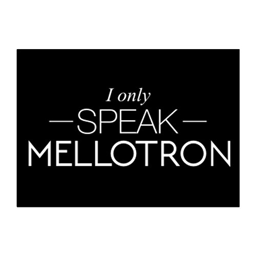 Idakoos - I only speak Mellotron - Instruments - Sticker Pack x4