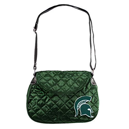 NCAA Michigan State Spartans Quilted Saddlebag