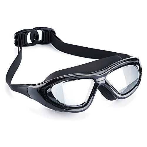 Swimming Goggles Professional Anti Fog No Leaking UV Protection Wide View Swim Goggles For Women Men Adult Youth Kids