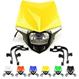 Universal Motorcycle LED Headlight Head Lamp Light...