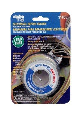 Alpha Metals Lead - Alpha Fry Rosin Core Solder Lead-Free 62
