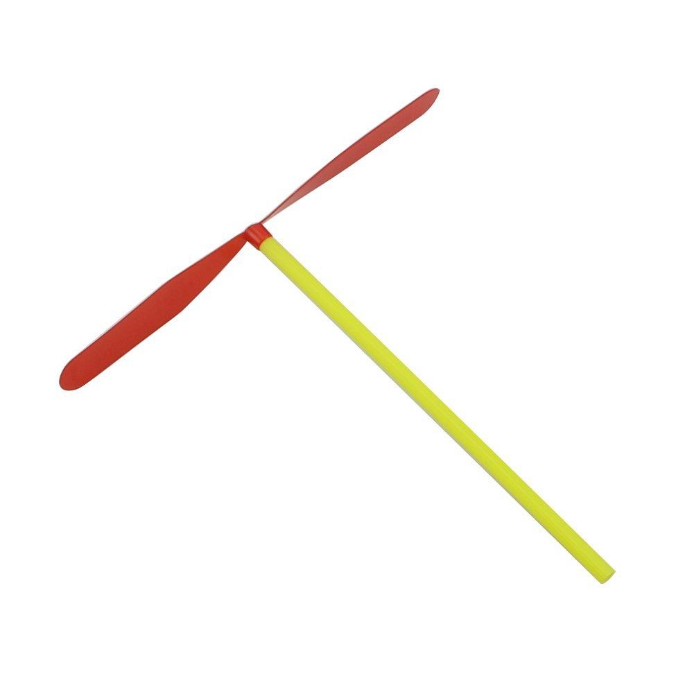 Feamos plastica Bamboo Dragonfly elica Outdoor Giocattolo per Bambini Regalo Confezione da 12