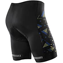 NOOYME Men Bike Shorts for Cycling with 3D Padded Printed Design Cycling Shorts