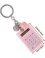 Mxzzand Przenośny kalkulator do podróży roboczych w biurze domowym (różowy, 12)
