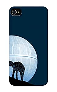 Ellent Design Walker And The Death Star Case Cover For Iphone 5/5s For New Year's Day's Gift