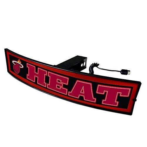 CC Sports Decor NBA - Miami Heat Light Up Hitch Cover - 21''x9.5'' by CC Sports Decor