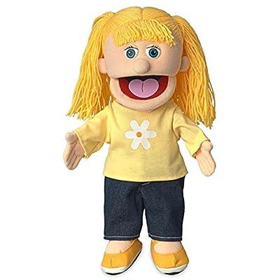 "14"" Katie, Peach Girl, Hand Puppet"