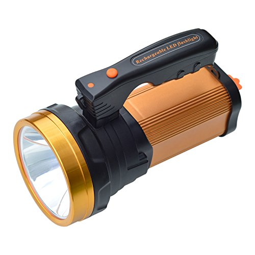 Led Spotlight Headlamp: Olidear Rechargeable Spotlights Ultra Bright Flashlight