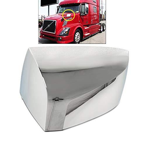 Hood Mirror Cover Left Driver Side Chrome Fit Volvo VNL 04-15