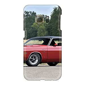 Excellent Hard Phone Cover For Samsung Galaxy S6 (cBv8381bQyx) Allow Personal Design Trendy Dodge Challenger R T '1970 Pattern