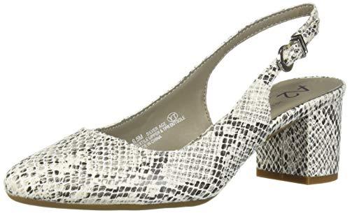(Aerosoles A2 Women's Silver Age Shoe, Black White Combo, 12 M US)