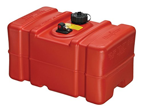 Below Deck Fuel Tank - Moeller 12-Gallon EPA High Profile Portable Fuel Tank