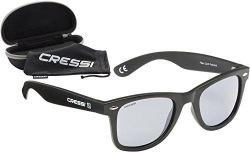 100 Gafas UV claro Sol negro Protección Unisex Premium Adulto Polarizadas Cressi de gris 8wdAqzOO