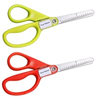 Stanley Guppy 5-Inch Blunt Tip Kids Scissors, Assorted Colors - Pack of 2 (SCI5BT-2PK)
