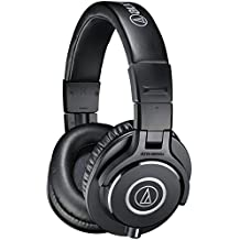 Audio-Technica ATH-M40x Professional Studio Monitor Headphones, Black