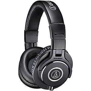 Audio-Technica ATH-M40X Professional Studio Monitor Over-ear Headphones