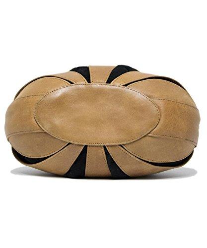 Fritzi aus Preußen - Bolso de asas para mujer marrón marrón