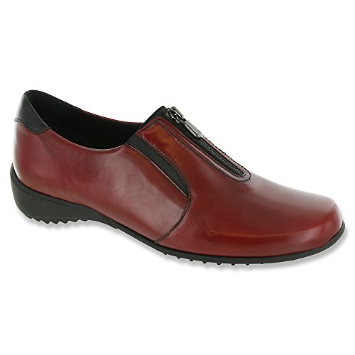 Womens Red Toe Closed Berkley Munro Leather Leather Loafers Txdqw8