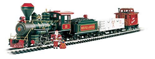 Bachmann Trains Night Before Christmas Ready-to-Run Large Scale Train Set ()