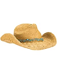 883e4a1e342 Unique Hand Woven Straw Cowgirl Hat