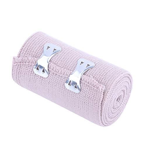 FairOnly 1.6M Power Lifting Elastic Bandage Tape Leg Calf Knee Support for Soccer Basketball Tennis Volleyball Sports Elbow Knee Wraps Show