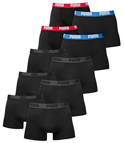 3x2er Black 2x2er paquete De blau Puma Hombre Rot Calzoncillo Schwarz Básico 10 Bóxer Basic wxqwYZ8zv