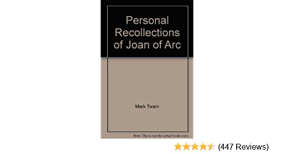 Amazon.com: Personal Recollections of Joan of Arc (Classic Books on Cassettes Collection) (9781556852114): Mark Twain, Grover Gardner: Books